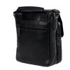 Мужская кожаная сумка Vesson 4632 черная  4