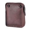 Мужская кожаная сумка Vesson 4558 коричневая 4