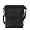 Мужская сумка из натуральной кожи Vesson 4532 черная 0