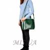 Женская сумка 35634 зеленая 4
