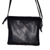 Женская кожаная сумка 2486 темно-синяя 2