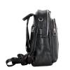 Женский кожаный сумка-рюкзак 2583 черный 4