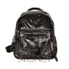 Женский кожаный рюкзак 381996 черный 0