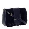 Женская замшевая сумка MIC 0708 синяя 2