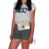 Женская сумка - конверт МІС 35723 бежевая 4