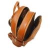 Кожаный рюкзак 2523 коричневый 4