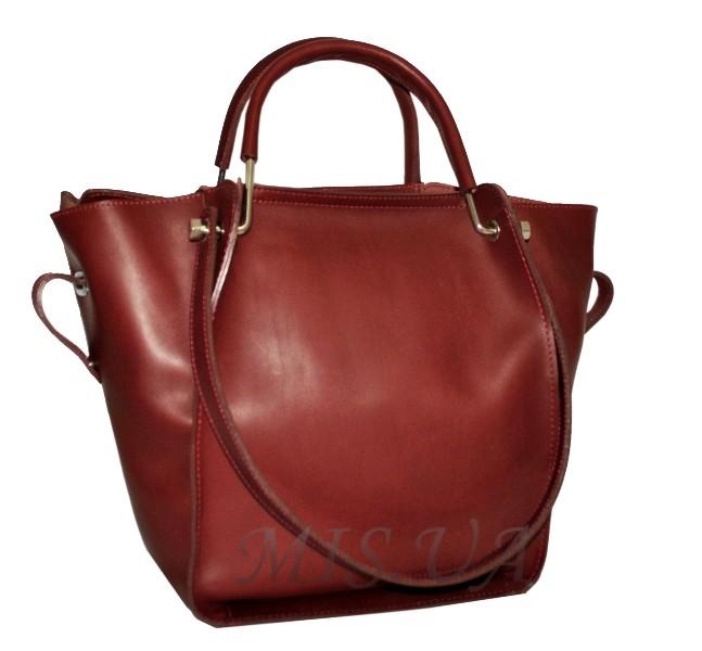 b1ede1e45b85 Купить кожаную женскую сумку бордовым цветом 2529 c доставкой по ...