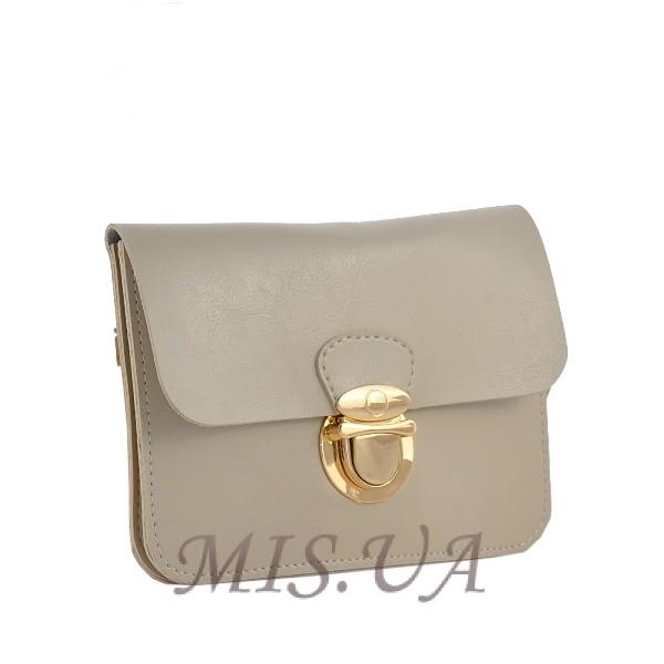 Женская сумка - конверт МІС 35723 бежевая
