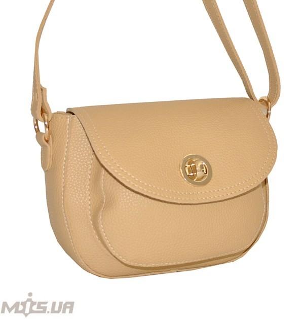 Женская сумка 35585 - с песочная