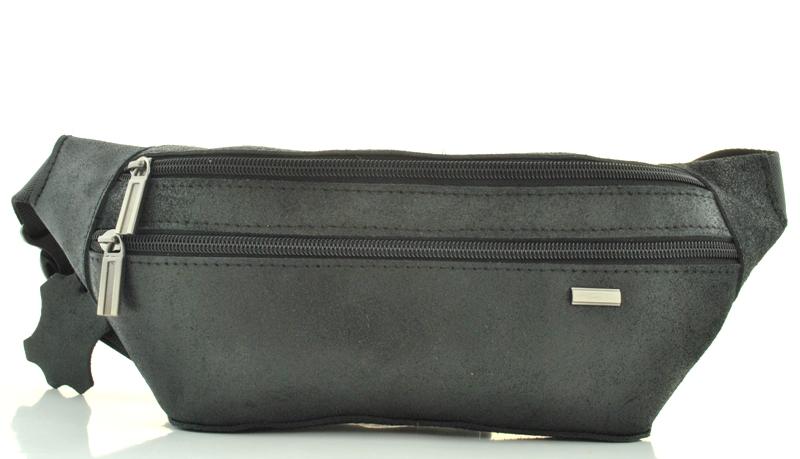 Мужская кожаная сумка 4275 черная
