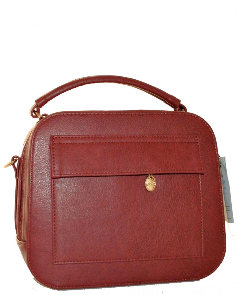 a27f55961ca8 Купить бордовую женскую сумку 35308 c доставкой по Украине ...