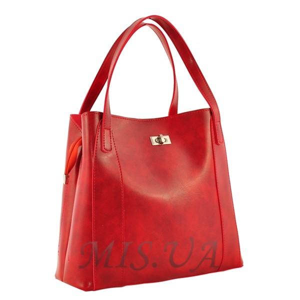 Женская сумка МІС 35694 красная