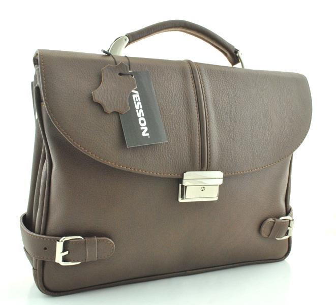 Мужской портфель 4170 коричневый