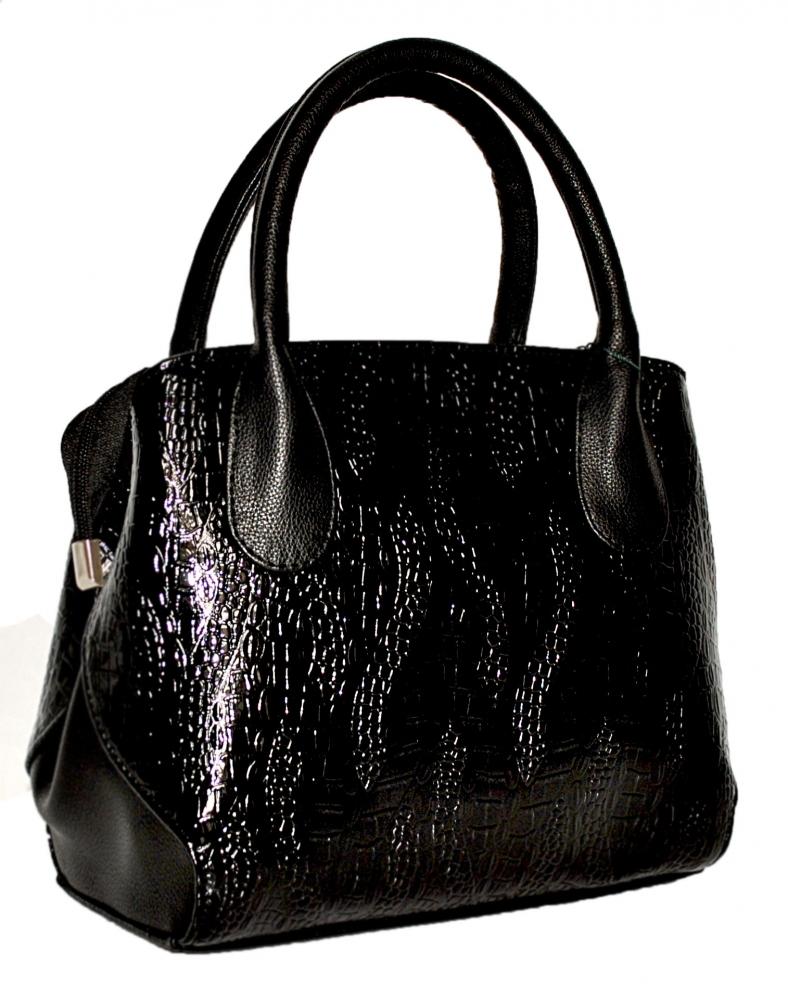 Купить черную женскую сумку 35395 c доставкой по Украине - Интернет ... e48edfb77ff