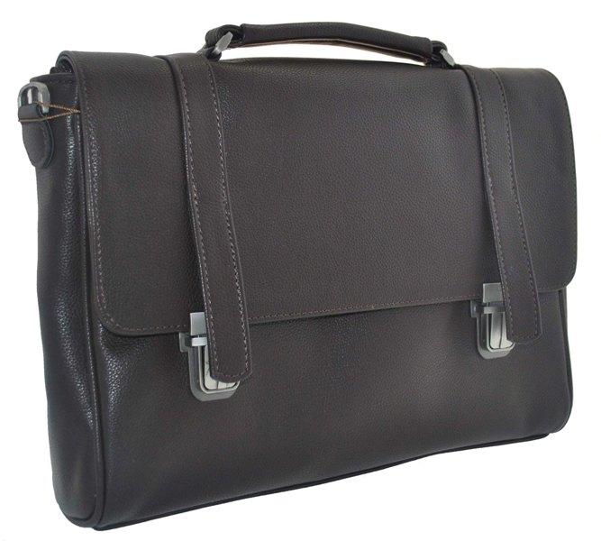 Мужской портфель 34125 коричневый