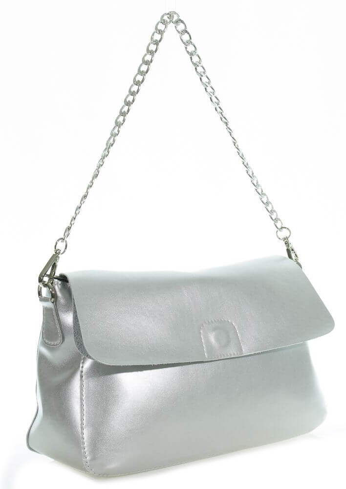 Women's bag 35446 silver