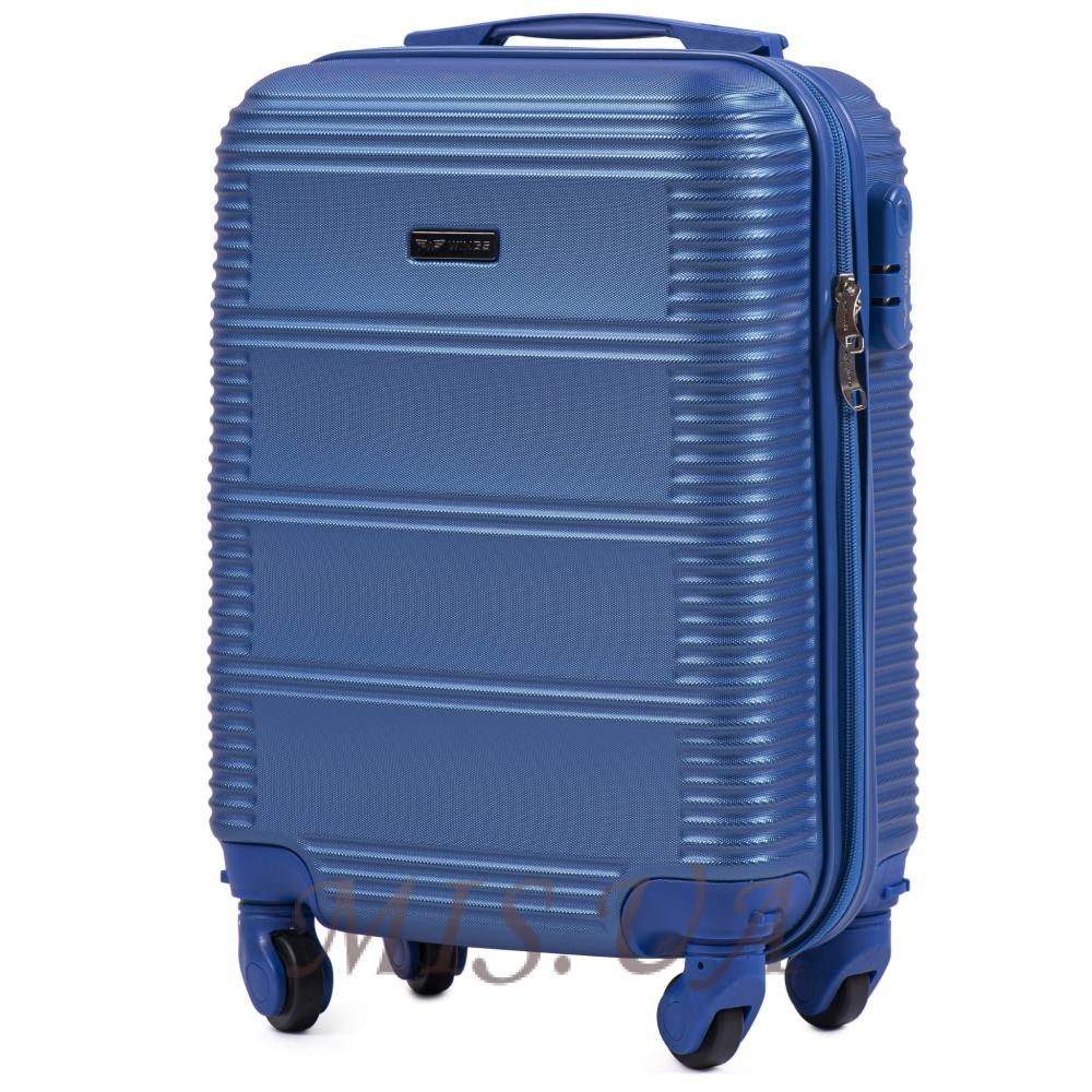 Чемодан ручная кладь 389507 синий