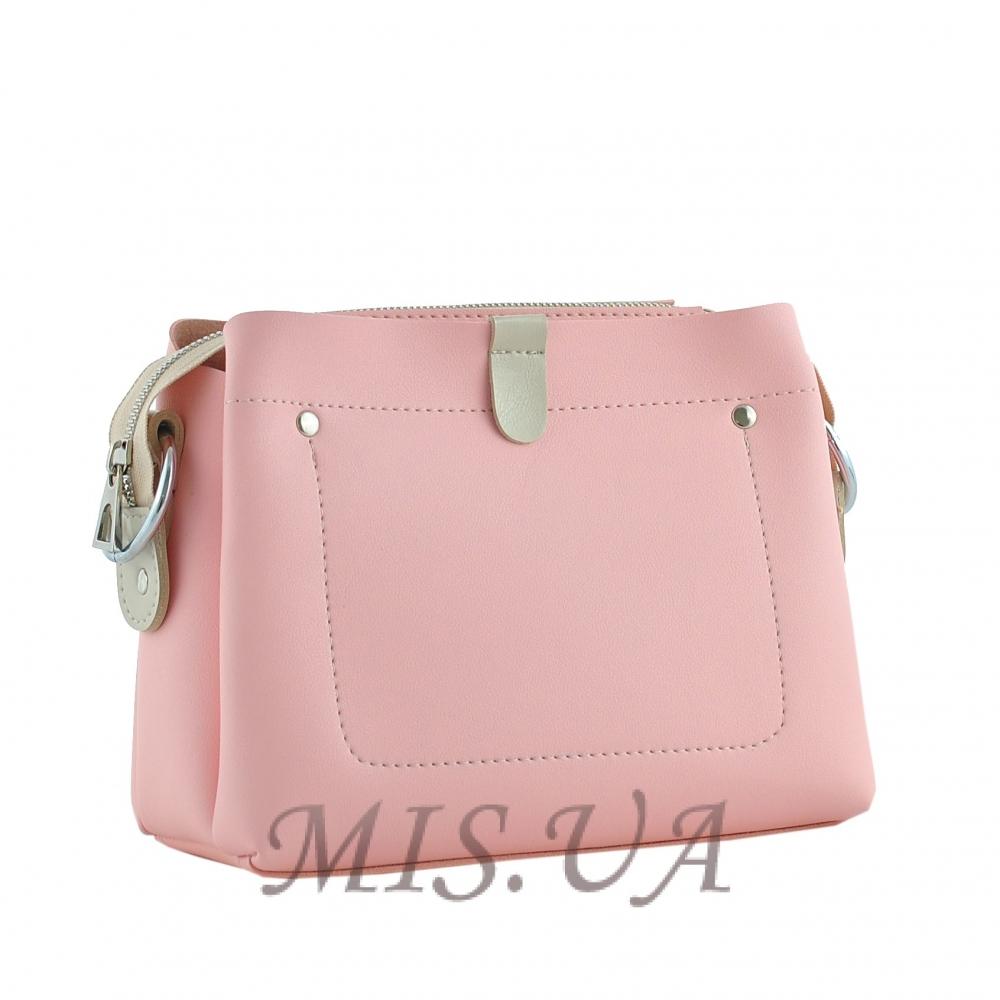 Женская сумка МІС 35605 розовая