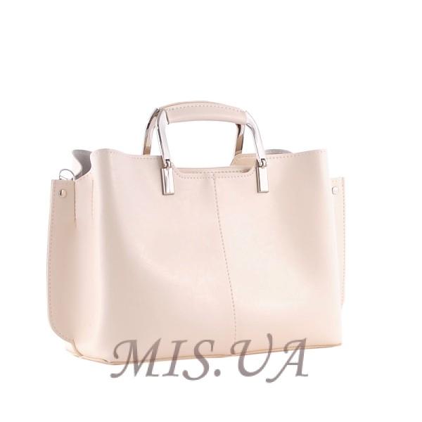 Женская сумка МІС 35744 бежевая