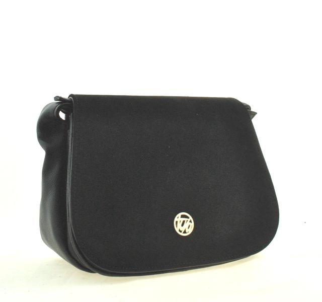 ee3a3d990e3b Купить черную женскую сумку 0615 c доставкой по Украине - Интернет ...