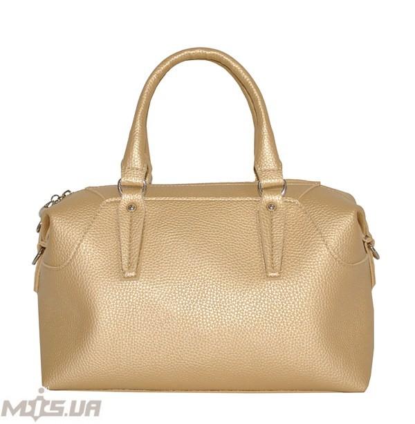 Женская сумка 35587 золотистая