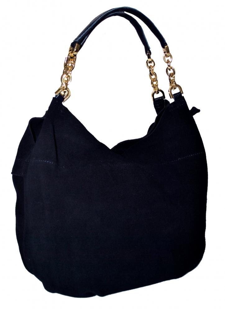Женская сумка 381956 темно-синяя