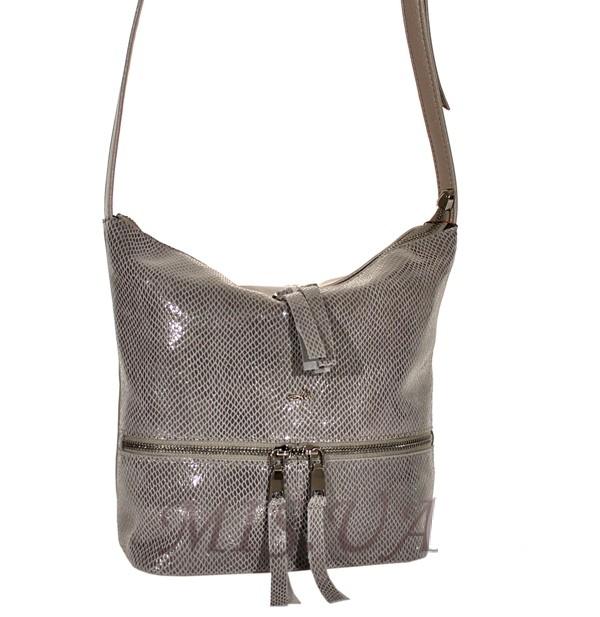 86c18fc3cd56 Купить серую замшевую женскую сумку 0673 c доставкой по Украине ...