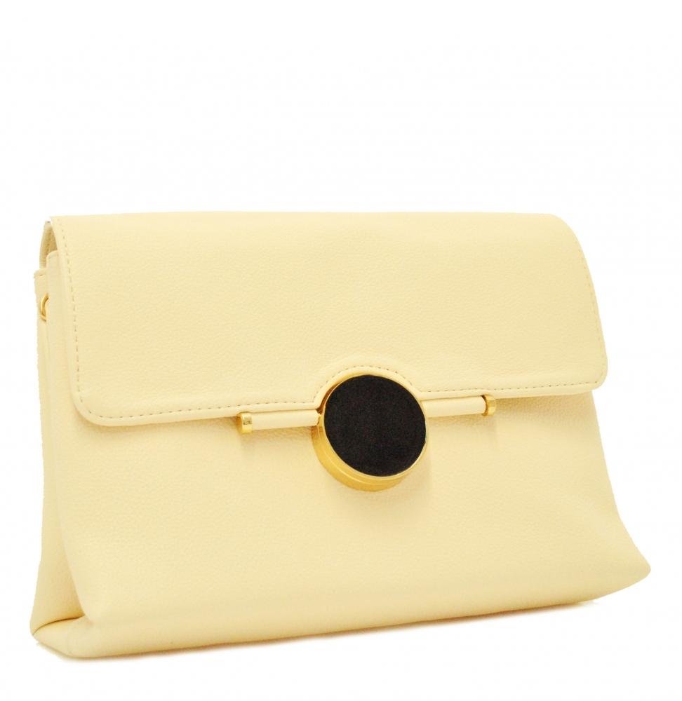 Женская сумка 35428 пудровая