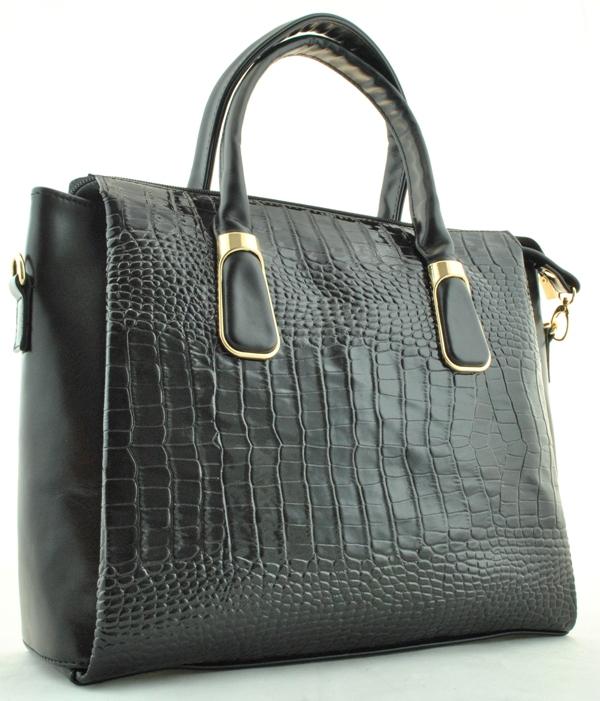 Женская деловая сумка 82427 черная