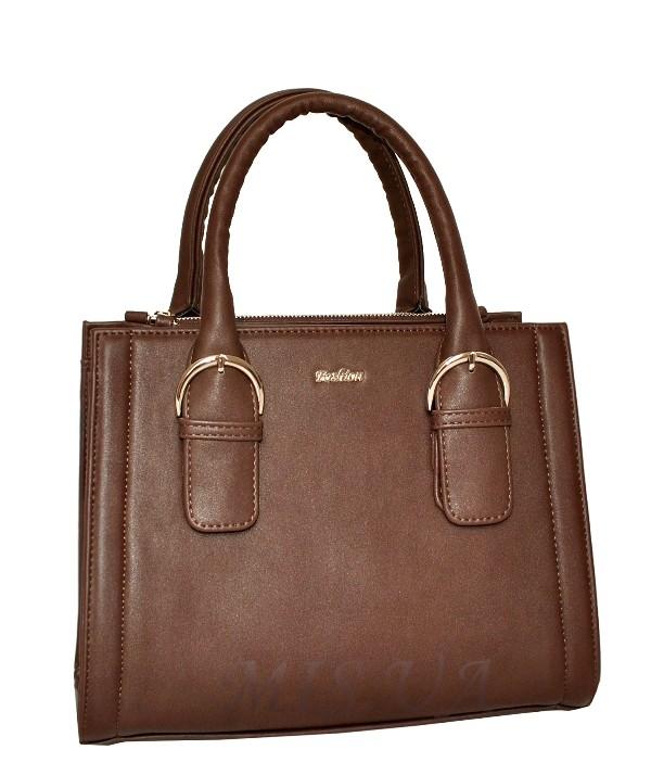 Жіноча сумка 35621 коричнева