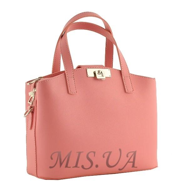 Женская сумка МIС 35667 розовая