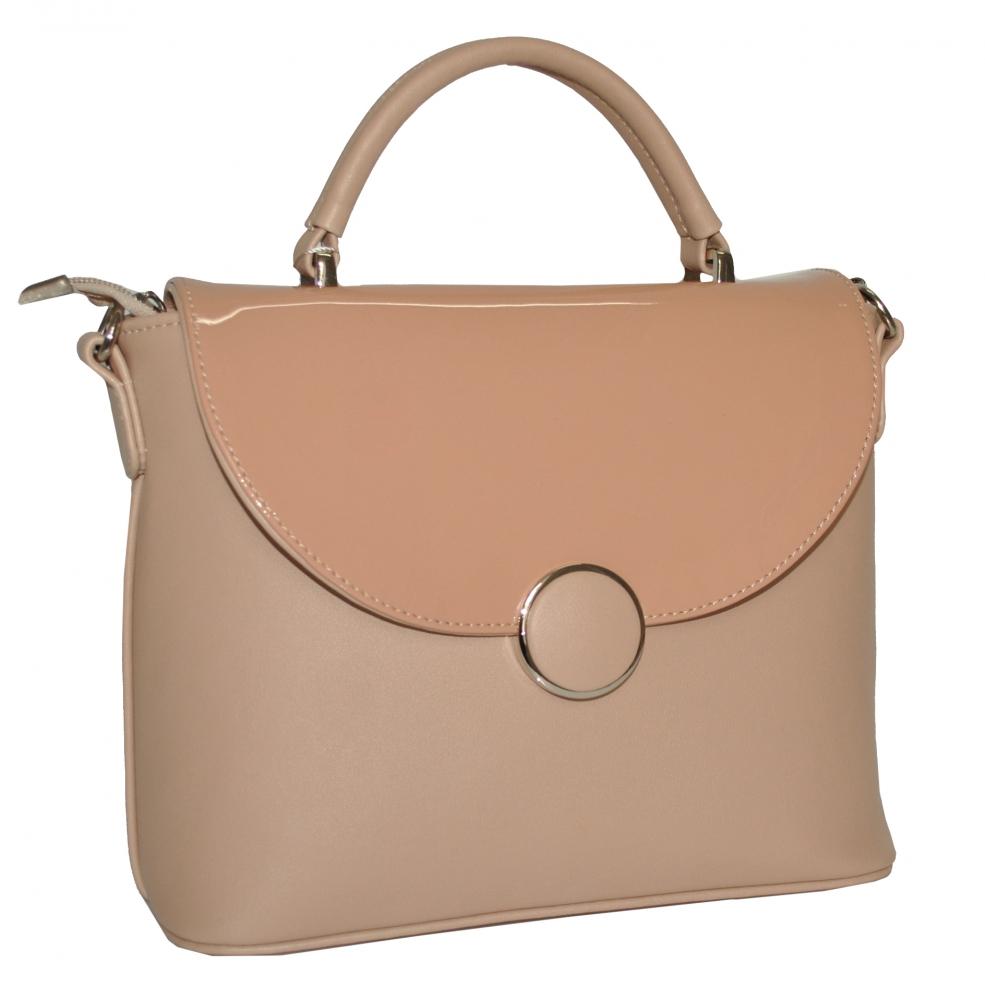 66b5648921a1 Купить женскую сумку 35505 - 1 цветом - пудра c доставкой по Украине ...