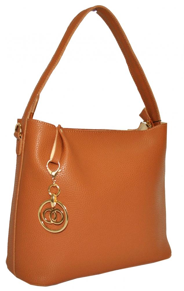 Женская сумка 35490 рыжая