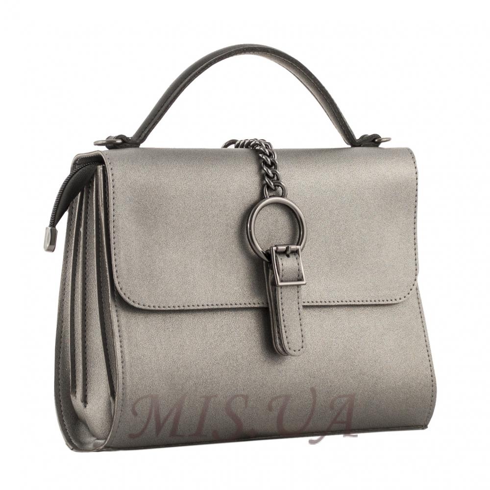 6286a28eaeaf Купить женскую сумку 35642 серебристую c доставкой по Украине ...