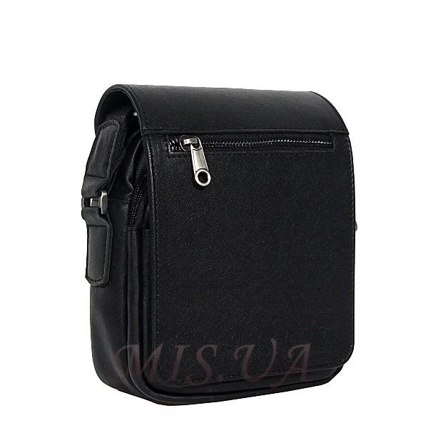 Мужская кожаная сумка Vesson 4605 черная