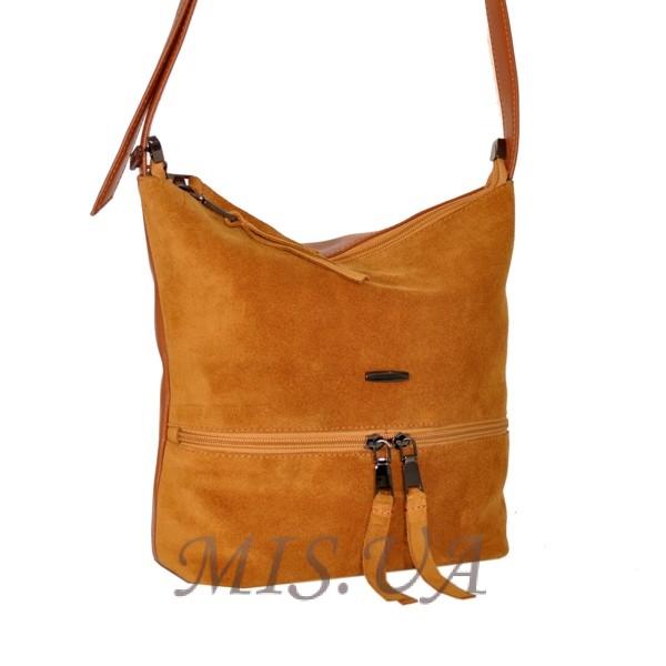 Купить рыжую замшевую женскую сумку 0673 c доставкой по Украине ... 4b8a1ea5f41