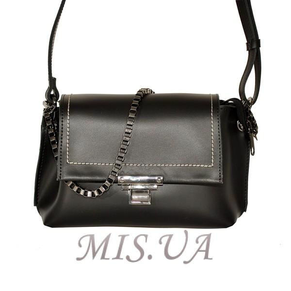 772dac3dbcd6 Купити шкіряну жіночу сумку 2556 чорним кольором з доставкою по ...