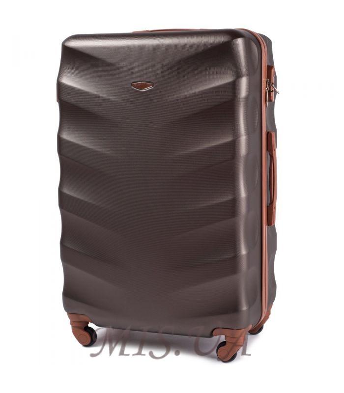 Чемодан большой 389517 коричневый
