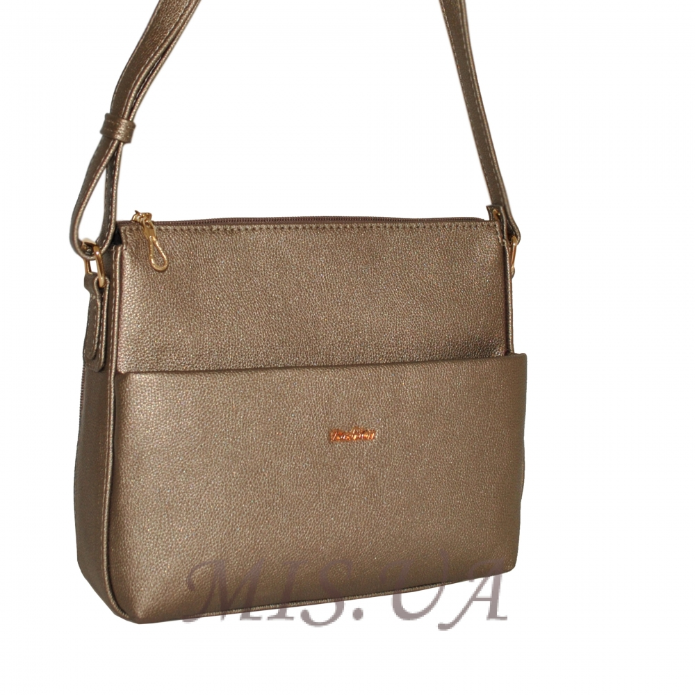 Женская сумка 35613 - 1 бронзовая