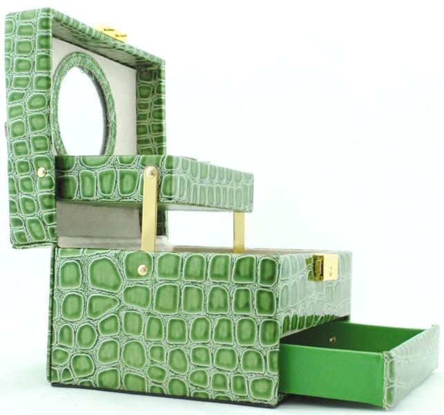 Шкатулка для украшений 1874 зеленая