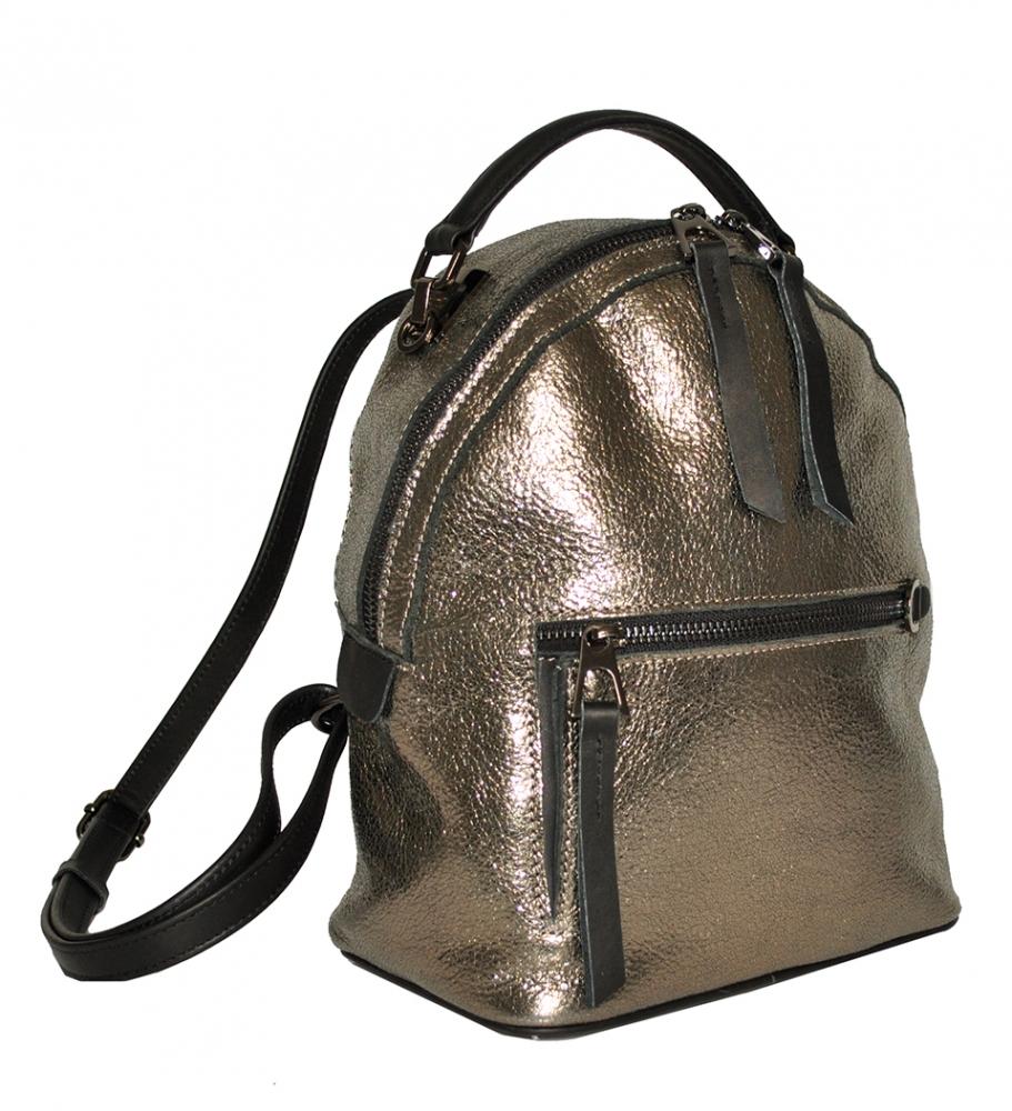 Женский рюкзак 2537 золотой