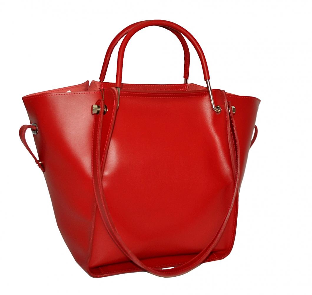 137e8792c6ea Купить красную кожаную женскую сумку 2529 c доставкой по Украине ...