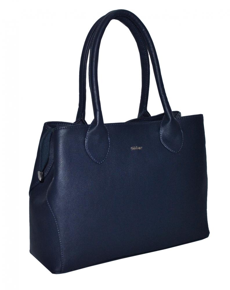 Женская сумка 35535 темно - синяя