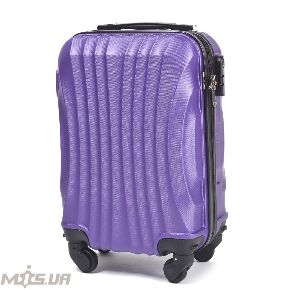 Чемодан 389593 фиолетовый