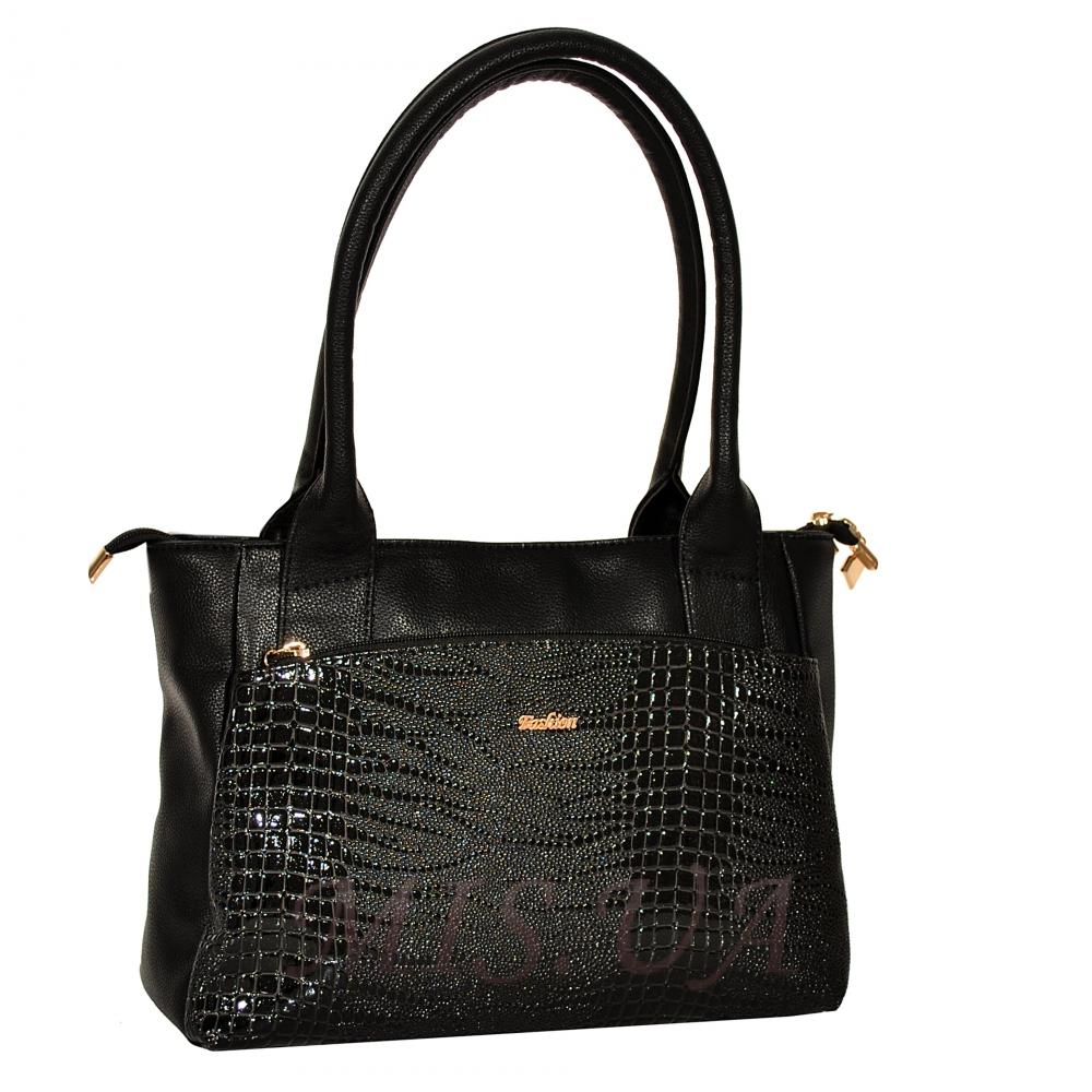 Купить женскую сумку черного цвета 35641-1 c доставкой по Украине ... f42381deef3