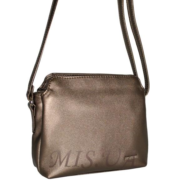 Женская сумка 35333 бронзовая