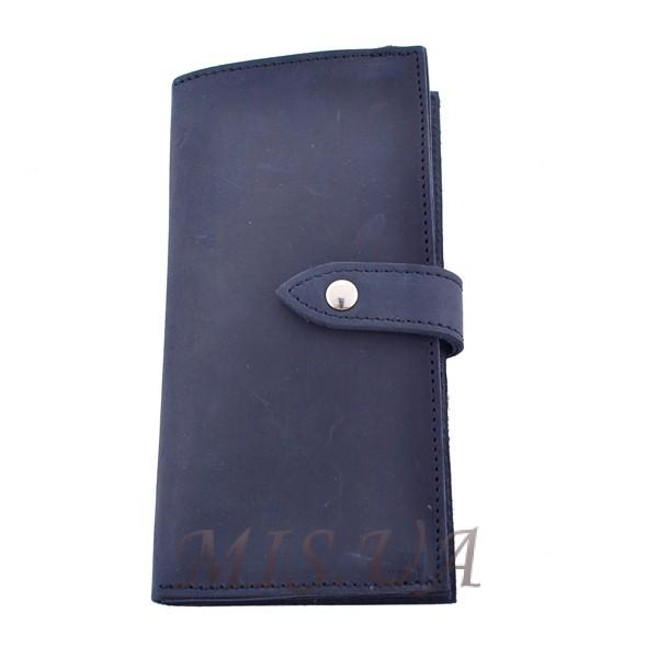 Men's wallet 4509 blue