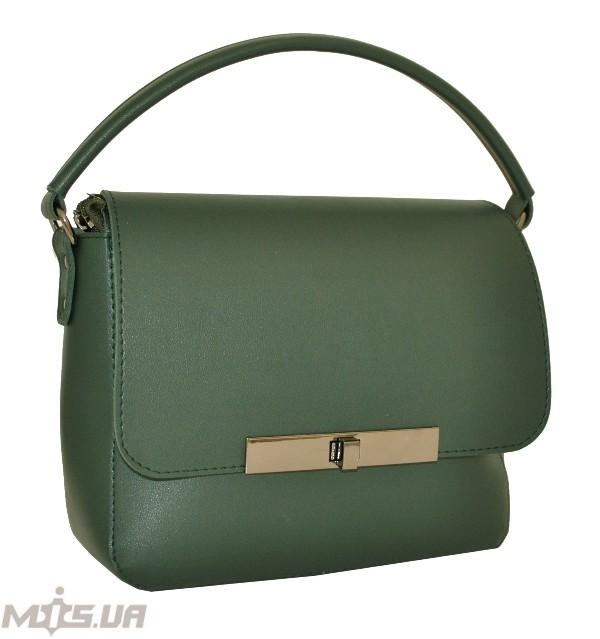 b736e45a07da Купить темно-зеленую женскую сумку 35582 c доставкой по Украине ...