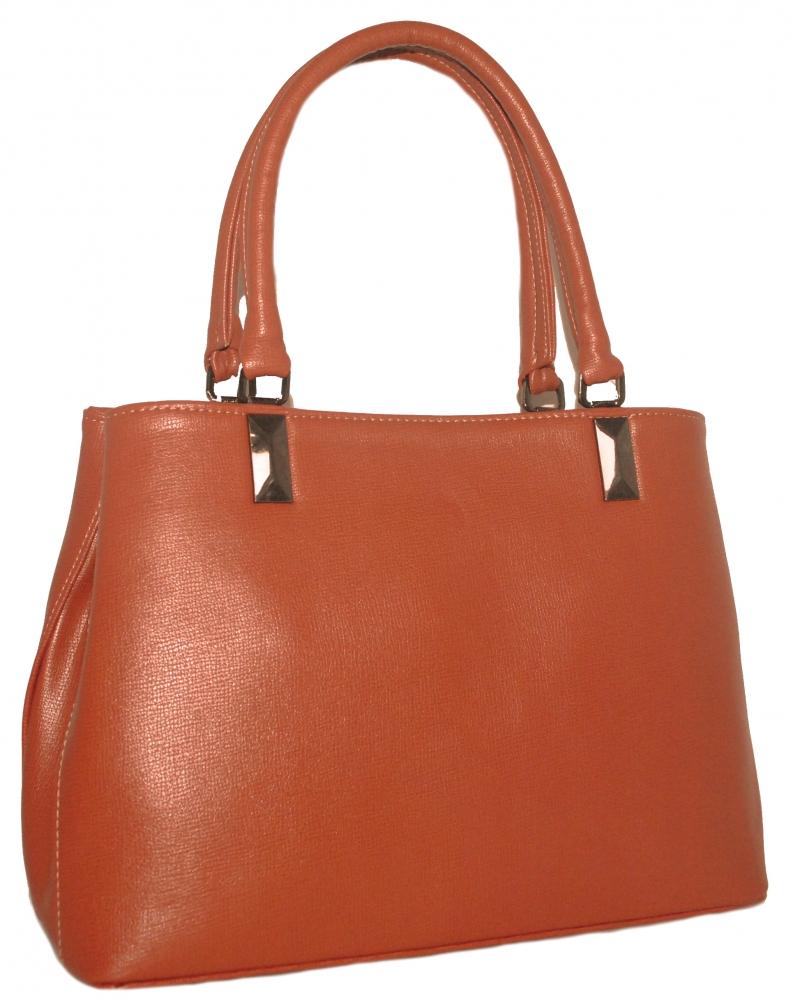 Женская сумка 35462 рыжая