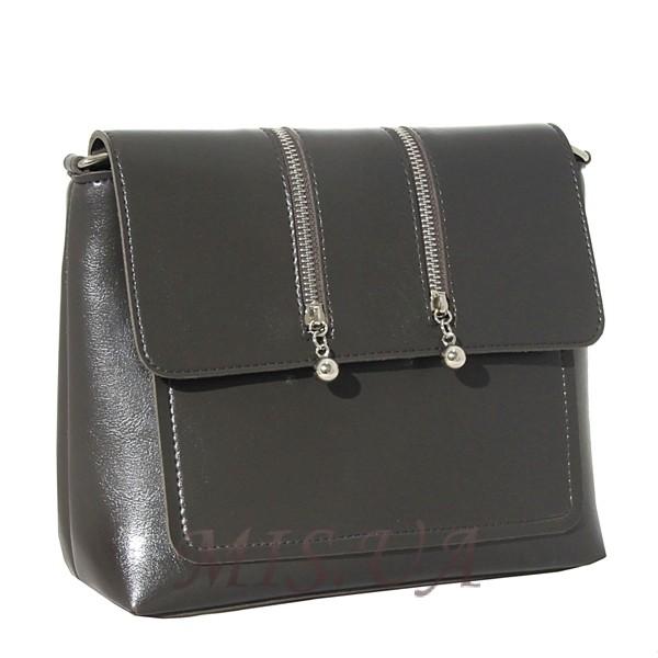 Женская сумка МІС 35810 серая